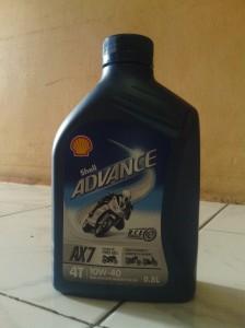 Shell Advance AX7,Rasakan tarikannya