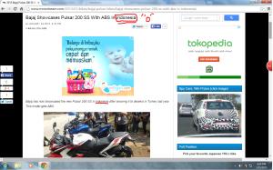Bajaj Pulsar 200 SS udah di Indonesia?? :o