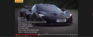 McLaren P1,V8 Engine!!