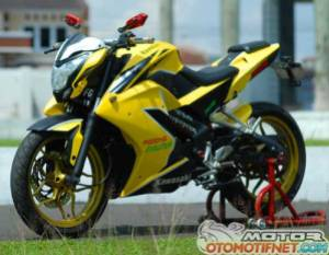 Pulsar 200NS modifikasi