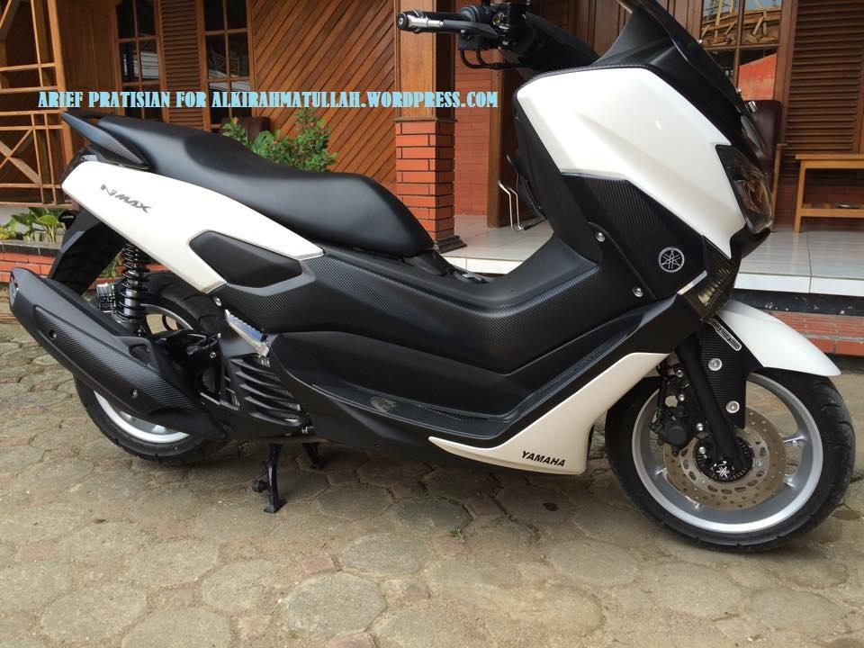 Nmax Putih Modifikasi  Modifikasi Motor Kawasaki Honda Yamaha
