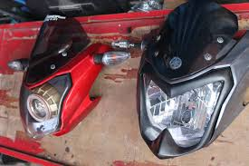 Cover headlamp di headlamp New Vixion!
