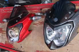 Cover headlamp di headlamp New Vixion!