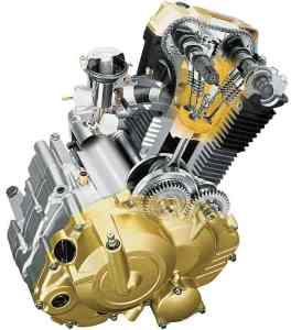 Ilustrasi mesin 150cc