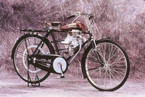 Ilustrasi motor jadul