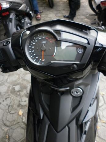 Humanic Speedometer with Reset button. Ga boleh dinyalain :(