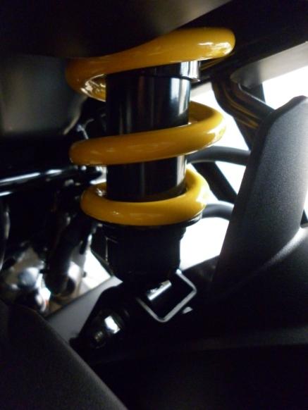 Monocross suspension