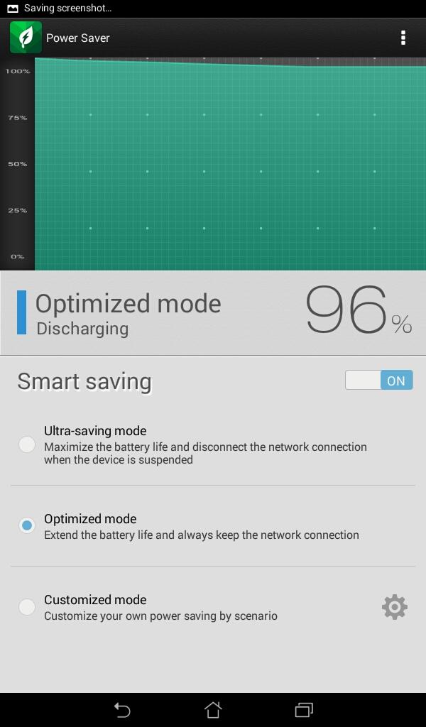 3 Pilihan mode menghemat baterai