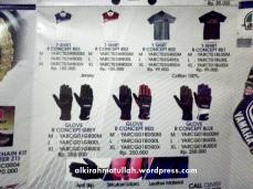 Gloves..
