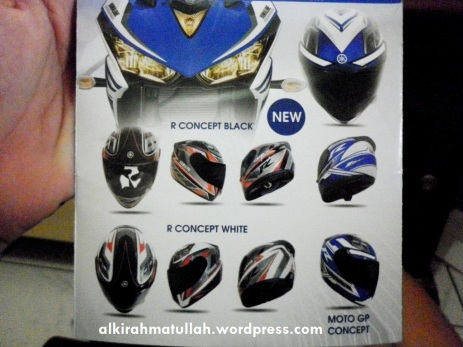 Racing Helmet from Yamaha