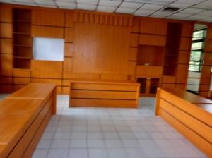 Pekerjaan Hery Kitchen Set Specialist,mengisi ruangan rapat di Pusat Penelitian Lingkungan Hidup IPB nih!