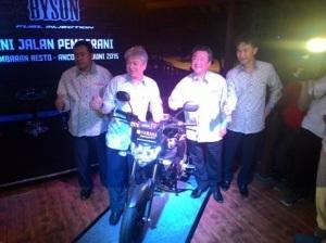 Launching Yamaha New Byson FI