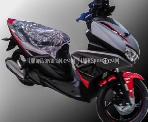 Yamaha Aerox 125 Gunmetal
