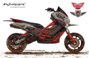 NMax Dirt Bike?? Mantap!
