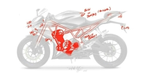 Yamaha R15 Facelift with Trellis frame?
