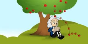 Gaya Gravitasi,ditemukan oleh Sir Isaac Newton,masih pada ingat? XD