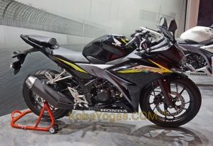 All New CBR150R Facelift Hitam