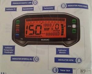 Speedometer Suzuki Satria FU Ibjeksi