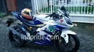 Modifikasi yang disematkan bro Ahmad di motornya