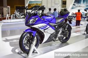 Yamaha R15 Revving Blue
