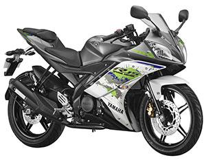 Yamaha R15 Sparky green
