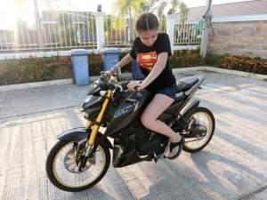 Yamaha Xabre M Slaz Pakai Velg Jari Dan Ban KecilThailand