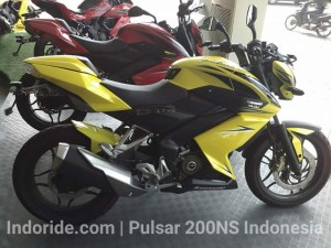 Pulsar 200NS modif di dealer