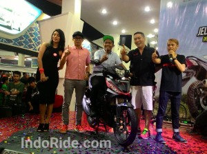 Launching All New Supra GTR150 di PRJ brosist