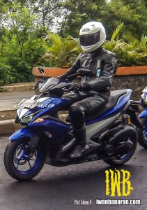 Pas ditest sama test ridernya nih..