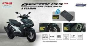 Aerox 155 Special Edition Version