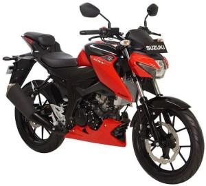 Suzuki GSX-S150 Red