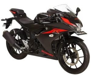 Suzuki GSX-R150 Black Matte (Hitam Doff)