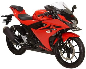 Suzuki GSX-R150 Red Titan Black