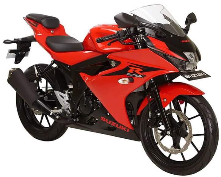 Suzuki GSX-R150 Red Titan Black