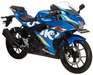 Suzuki GSX-R150 Metallic Triton Blue Ecstar MotoGP