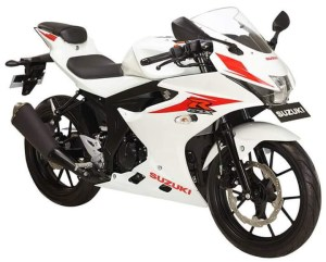 Suzuki GSX-R150 Brilliant White