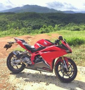 CBR250RR Racing Red Secondhand pertama di dunia??