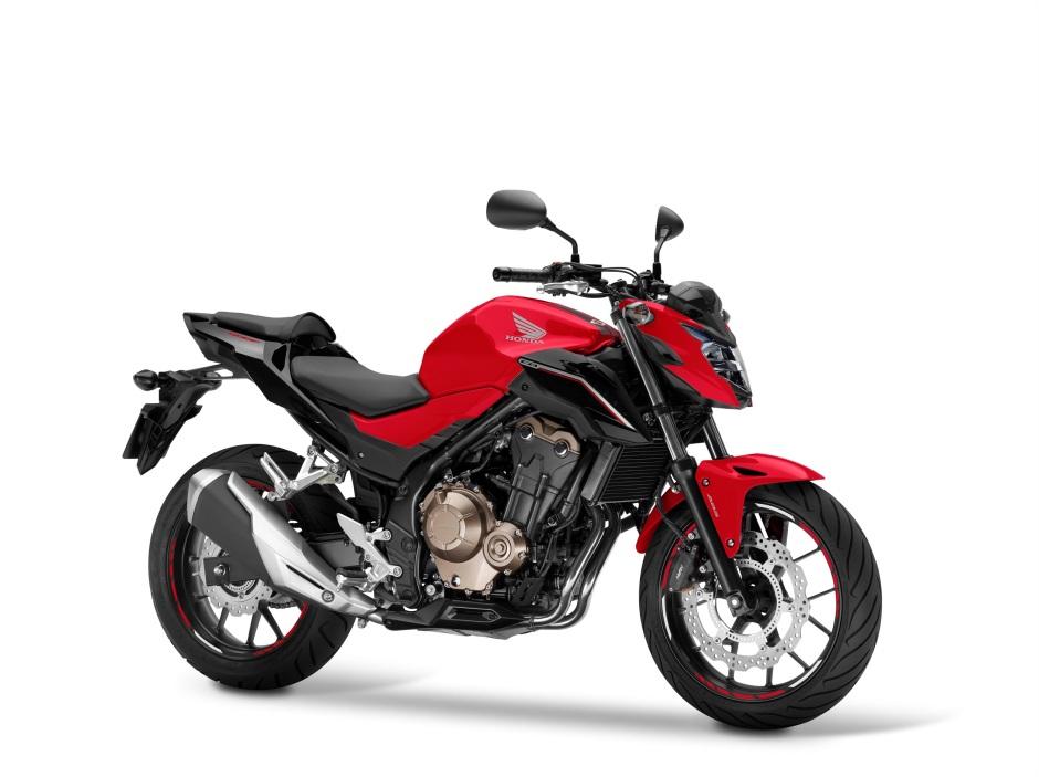 Honda CB500F Red