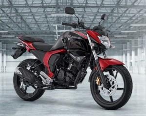 Yamaha Byson FI merah hitam