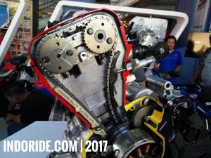Mesin Suzuki GSX-R150 dan GSX-S150.. DOHC Overbore!