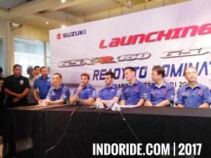 Launching Suzuki GSX-R150 dan GSX-S150 bareng Alex Rins dan Andrea Iannone!