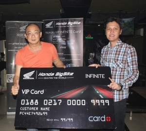 Honda Infinite Card..