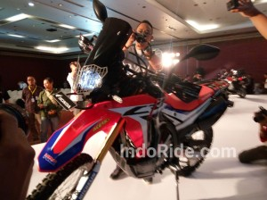 Honda CRF250 Rally!