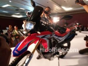 Honda CRF250 Rally!