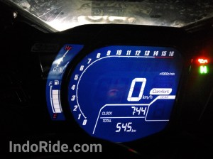 Comfort Mode, mode paling bawah di urutan riding mode CBR250RR