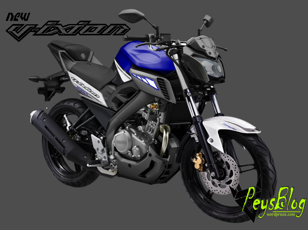 94 Modifikasi Motor Vixion Facelift Terkeren Kinyis Motor