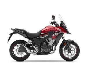 Honda CB500X merah