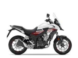 Honda CB500X putih