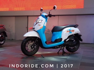 Beberapa Hal Menarik Dan Unik Dari Honda All New Scoopy 2017