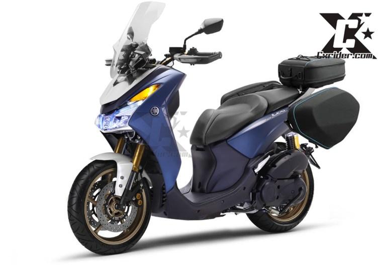 Konsep Modifikasi Yamaha Lexi 125 Touring Edition, Kalau Begini Siap Menjelajah Jauh!